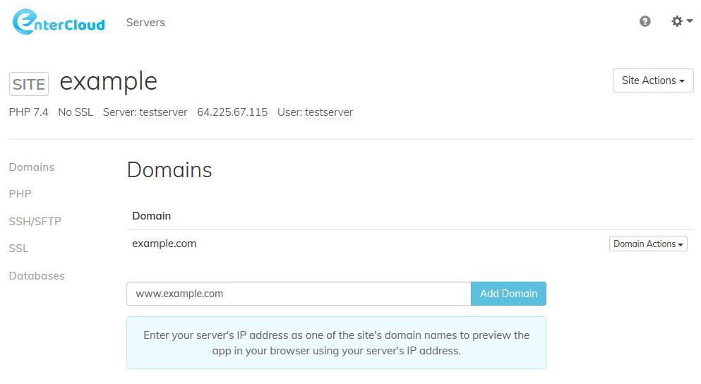Setup DNS A Records
